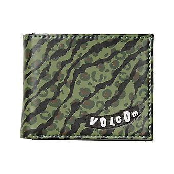 Volcom Empty Faux Leather Wallet in Camouflage