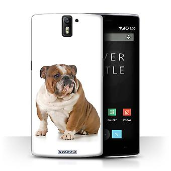 STUFF4 Case/Cover for OnePlus One/Bulldog/Dog Breeds
