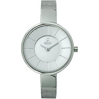 Obaku Sol Steel Women's Wristwatch V149LXCIMC