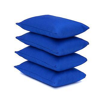 Royal Blue Cotton Fabric Bean Bag per Sport, PE, Scuola, Catching Games, Sensory, Juggling