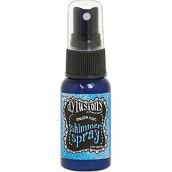 Dylusions Shimmer Sprays 1oz - London Blue