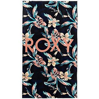Roxy Cold Water Beach Towel in Anthracite Tropicoco S