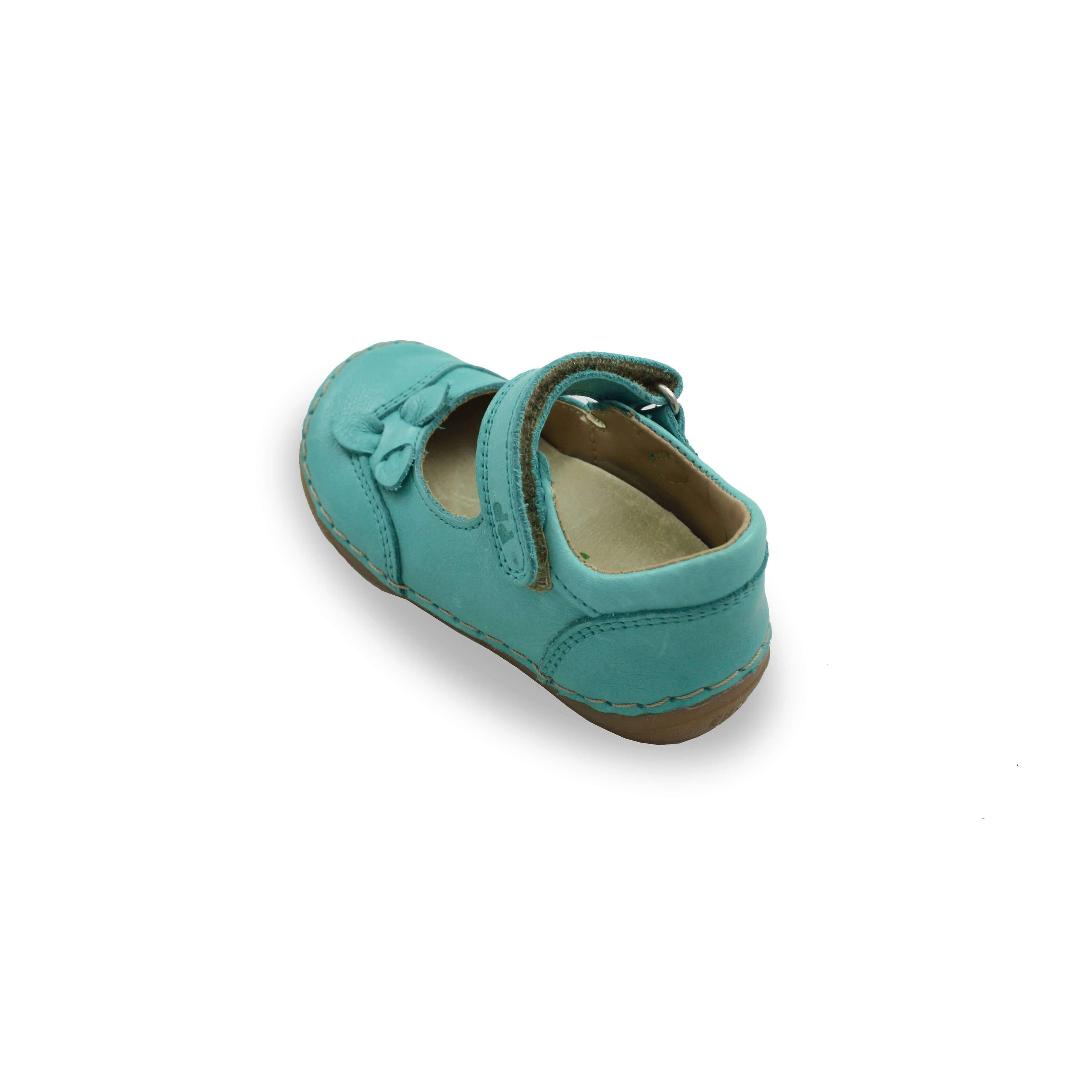 Froddo Green Mary-jane Shoes With Flower