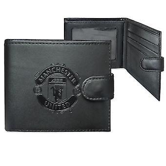 Manchester United FC offisiell fotball skinn lommebok preget crest gave bokset