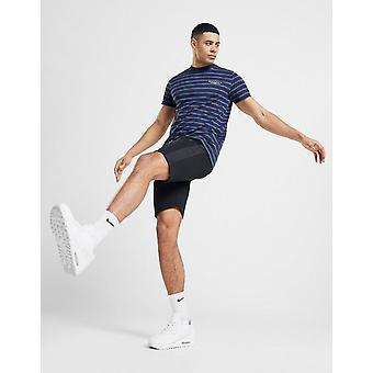 New Mckenzie Men's Adley Poly Fleece Shorts Black