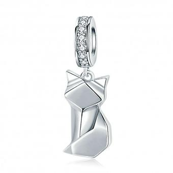 Sterling Silver Pendant Charm Fox - 6303
