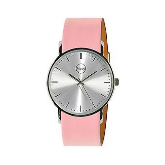 Mody Shinysilver-Pink Women's Watch Men's Watch