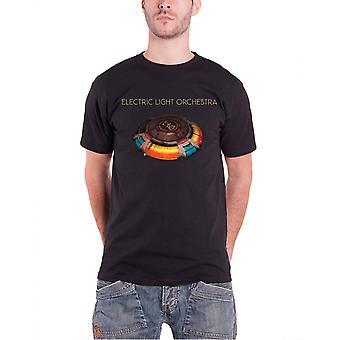 Electric Light Orchestra T Shirt ELO Mr Blue Sky Band Logo Official Mens Black