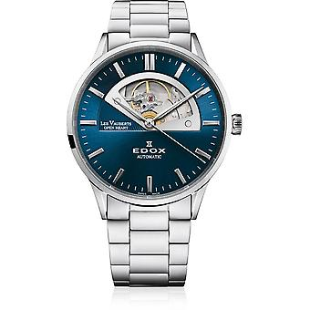 Edox - ساعة اليد - الرجال - Les Vauberts - قلب مفتوح أوتوماتيكي - 85014 3M BUIN