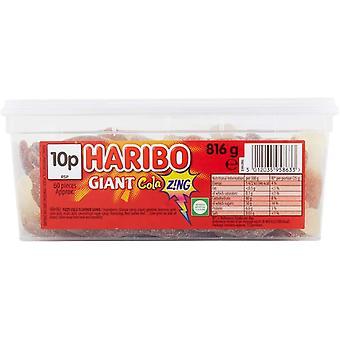Haribo Jättiläinen Cola Zing (60) Kpl 816g