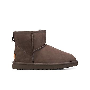 Ugg Ezcr013005 Women's Brown Suede Ankle Boots