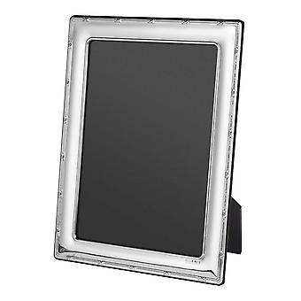 Orton West Small Detail Photo Frame 8x10 - Silver