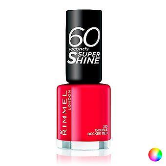 nail polish 60 Seconds Super Shine Rimmel London/740 - clear