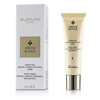 Abeille royale night cream firming, wrinkle minimizing, replenishing 224435 30ml/1oz
