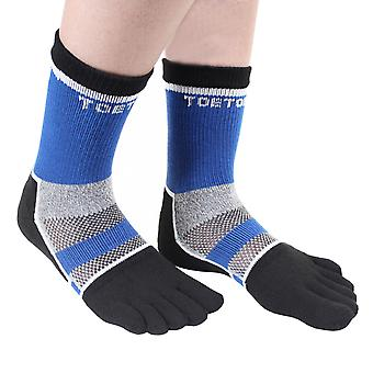 TOETOE Sports Cycle Unisex Ankle Toe Socks