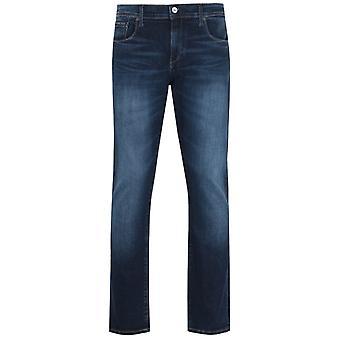 Armani Exchange J13 Slim Fit Indigo Rinse Denim Jeans