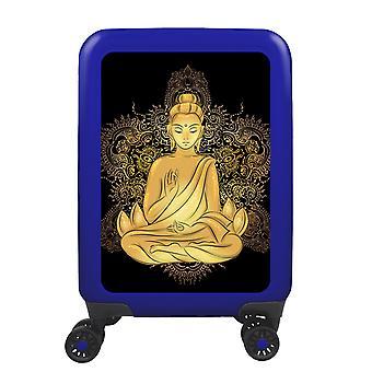 myTrolley Buddha S, 4 wheels, 55 cm, 32 L, blue