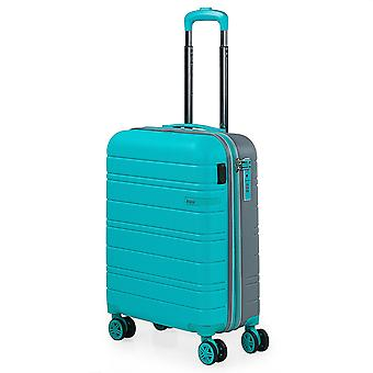 JASLEN San Marino Hand luggage Trolley S, 4 wheels, 39 cm, 50 L, turquoise