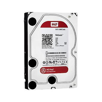 WD HDD 3.5in Interne SATA 3TB Rouge