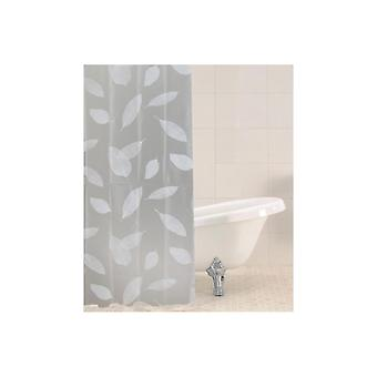 Sabichi Shower Curtain with Leaves Design