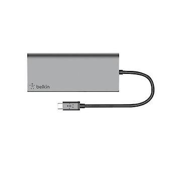 Belkin Usb C 4 Port Mini Hub Power Pass Thru