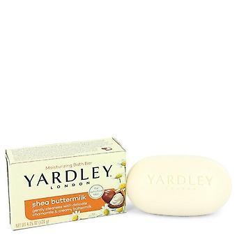 Yardley Lontoo Saippuat Shea Butter Milk luonnollisesti kosteuttava kylpy saippua Yardley Lontoo 4,25 oz Shea Butter Milk luonnollisesti kosteuttava Bath Soap