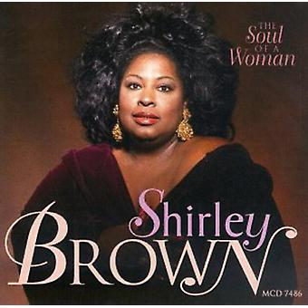 Shirley Brown - Soul of a Woman [CD] USA import
