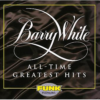 Barry White - All Time Greatest Hits [CD] USA import