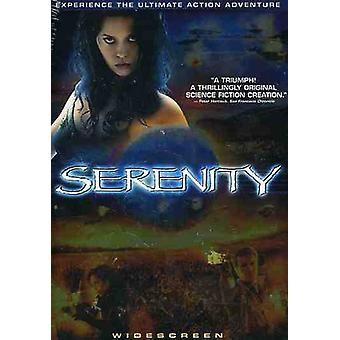 Serenity [DVD] USA import