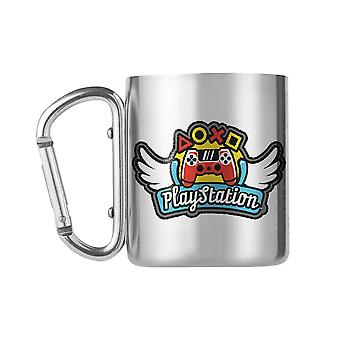 PlayStation, Mug with Carabiner - Wings