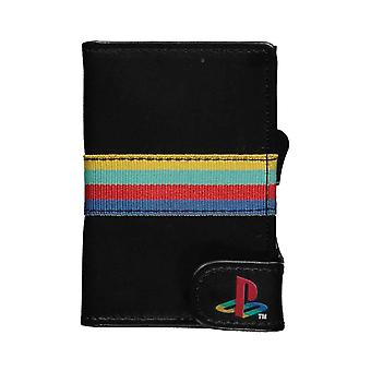 Playstation Card Wallet ID Classic Logo new Official Gamer Black