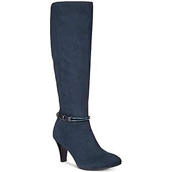 Karen Scott Womens Hollee stof gesloten teen knie hoge Fashion laarzen