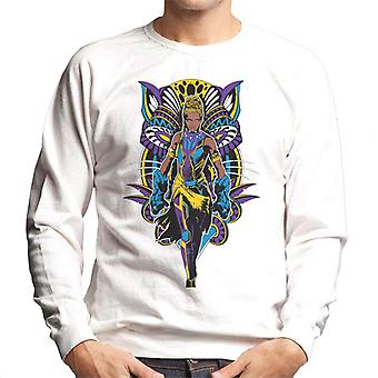 Bewundern Sie Black Panther Shuri Vibranium Gauntlet Comic Book Herren Sweatshirt