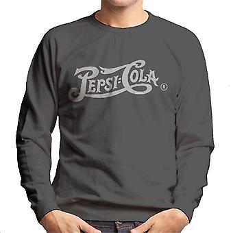 Pepsi Cola 1940s Retro Bright Text Men's Sweatshirt