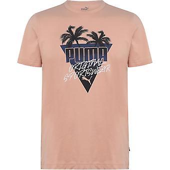 Puma Palms QT T Shirt Mens
