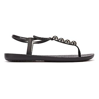 Ipanema Class Pebble Womens Black Sandals