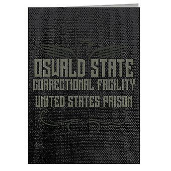 Oswald State Correctional Facility Oz Greeting Card