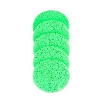 Démaquillant Puff Natural Wood Pulp Sponge - Cellulose Compress Puff Facial Washing Sponge