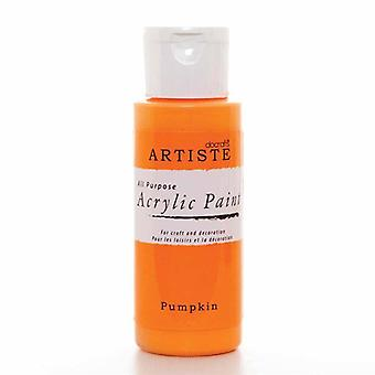 Peinture acrylique Docrafts (2oz) - Citrouille (DOO 763207)