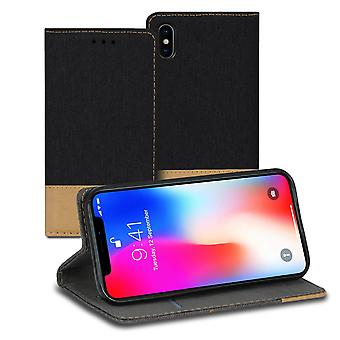Mobilfordral Jeans for Apple iPhone X/ XS Mobile Cover Shell TPU Mobile Shell Denim