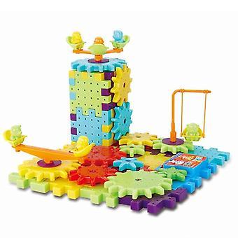 3d Puzzle Building Blocks Kits - Diy Bricks, Educational