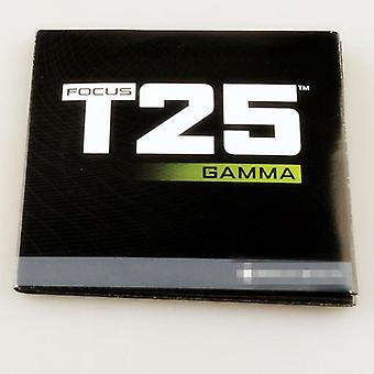 Focus T25 Gamma 4 Disc Fittness Workout Dvd Dvds W/ Calendar 10dvd Or 4dvd