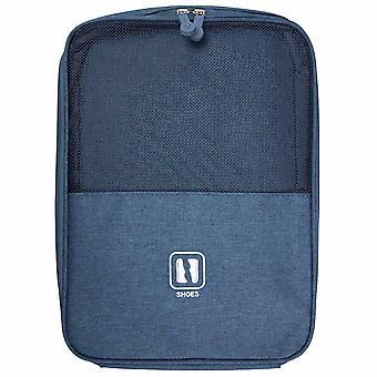 Saco de sapato para viagens - Azul