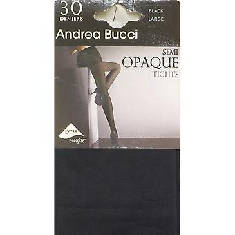 ANDREA BUCCI Tights 30DEN 0303113 Svart