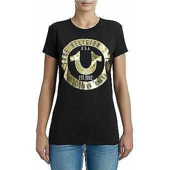 Religión Verdadera (True Religion) Camiseta Circle Horseshoe