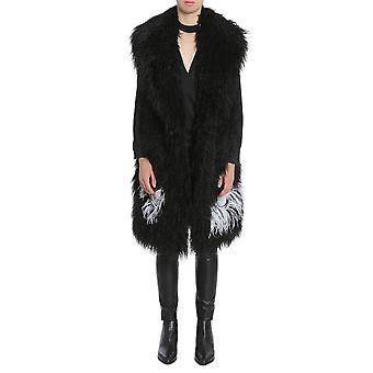 Ainea F7f04a1 Women's Black Acrylic Vest