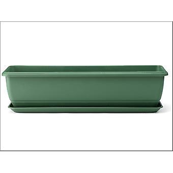 Stewart Save Water Balconniere Trough Green 70cm 2136019