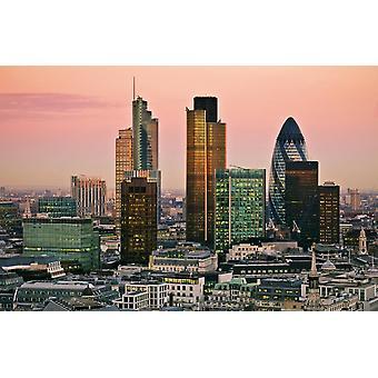 Vægmaleri City of London