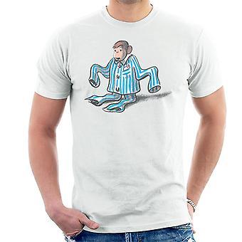 Curious George Pajamas Too Big Men's T-Shirt
