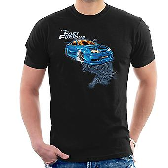 Fast and Furious Tokyo Drift Dragon Men-apos;s T-Shirt